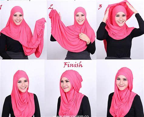 tutorial berhijab zaskia tutorial hijab instant ala zaskia adya mecca yang cantik