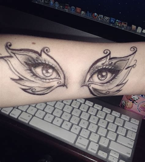 apple of my eye tattoo designs in my design by keuker on deviantart
