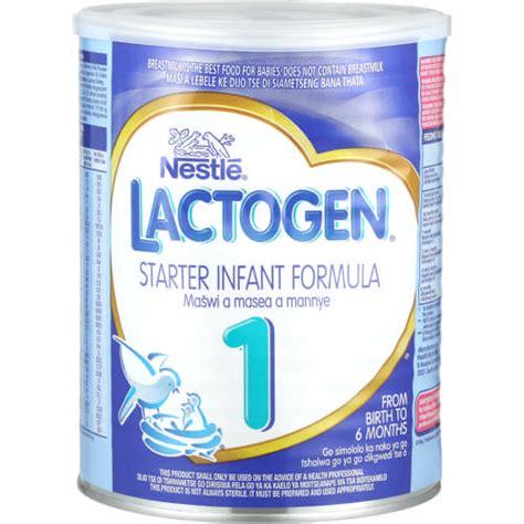 Nestle Lactogen Nestle Lactogen Starter Infant Formula 900g Clicks