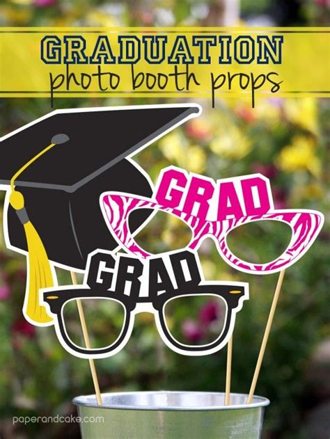 printable graduation photo booth props 2015 560 best images about graduation on pinterest
