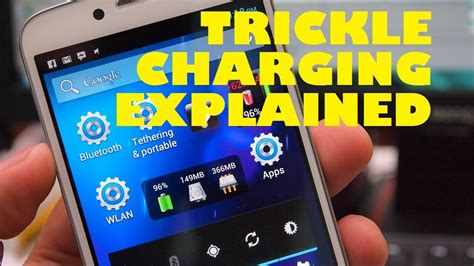 what is the maximum charge that can be stored on the capacitor why does my battery drop to 90 after unplugging my phone trickle charging explained