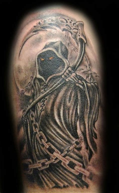 reaper tattoo 25 cool grim reaper tattoos design best pictures