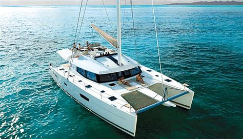 catamarans in australia sailing and power cats at 2016 sanctuary cove boat show
