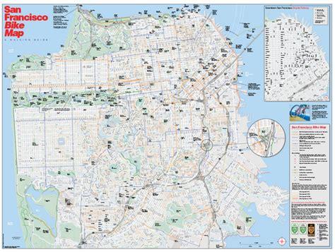 san francisco bike map cycling in the san francisco bay area