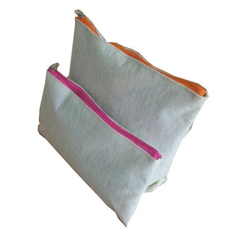 canvas zipper pouch bulk small canvas bags with zipper bags more