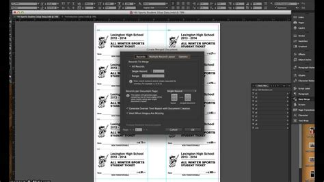 tutorial indesign data merge adobe indesign mail merge tutorial youtube