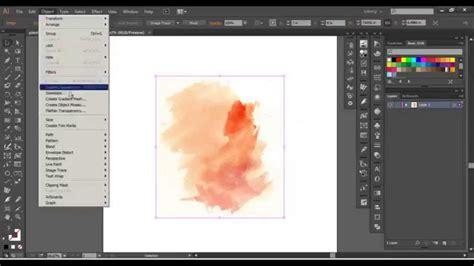 tutorial illustrator watercolor adobe illustrator advanced watercolor vector youtube
