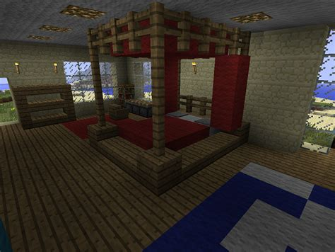 how to make an awesome bedroom in minecraft minecraft furniture bedroom