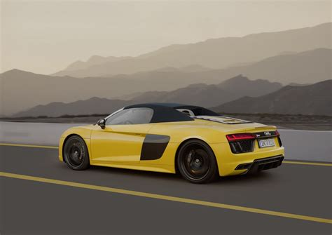 Audi New York by New Audi R8 Spyder Drops By New York Carscoops