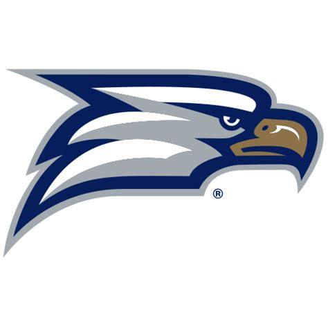 logo georgia southern university eagles eagle head fanapeel