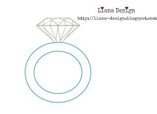 ring template ring template cards weddings valentines