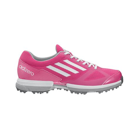 adidas adizero sport golf shoes womens pink at
