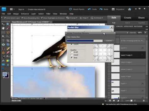 tutorial photoshop yt photoshop elements filter tutorial radial blur youtube