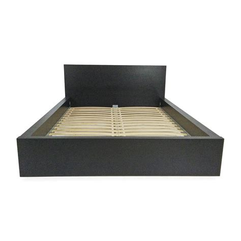 51 Off Ikea Malm Black Bed Frame Beds Black Ikea Bed Frame