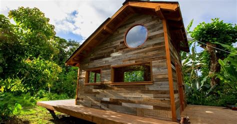stunning jay nelson us new tiny house in hawaii the shelter pic for living a home trends and the flying tortoise quirky micro house designer and