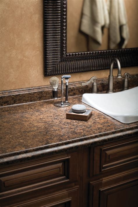 Laminate Bathroom Countertop by Wilsonart Countertops For Those Who What Real Design