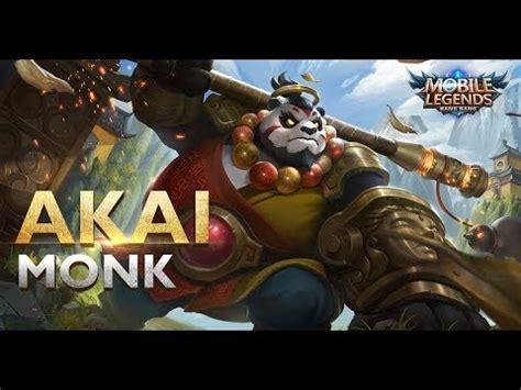 Akai Panda Warrior mobile legends akai new skin monk