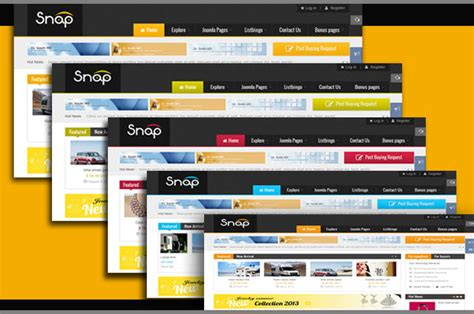 joomla classifieds template joomla sj snap a stunning classified template for