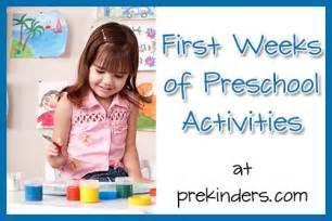 kindergarten themes for the beginning of the school year beginning of school activities prekinders