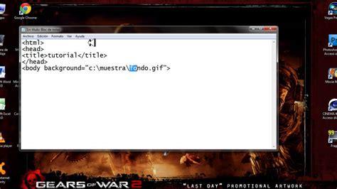 poner imagenes flotantes html insertar imagen y musica de fondo en html bn explicado