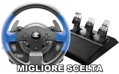 miglior volante per pc volante per pc e console migliore guida alla scelta tecnofun