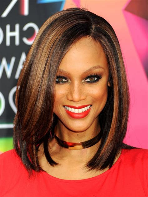 Medium Length Hairstyles Black by Medium Length Hairstyles For Black Hair