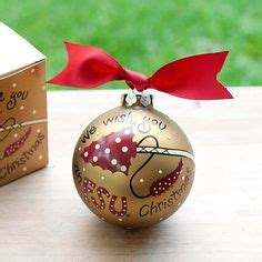wishing you an fsu christmas ornament by coton colors