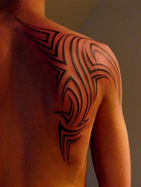 tribal shoulder blade tattoos 40 most popular tribal tattoos for