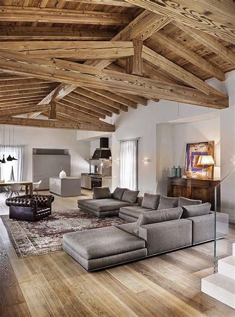 soffitto travi a vista travi in legno a vista sul soffitto oltre 10 idee e
