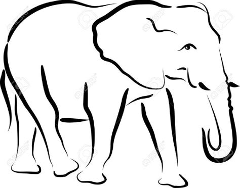 african elephant outline tattoo pinterest images of 31 best circus elephant tattoo outline images on pinterest