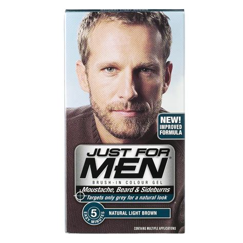 just for men light brown just for men beard lookup beforebuying