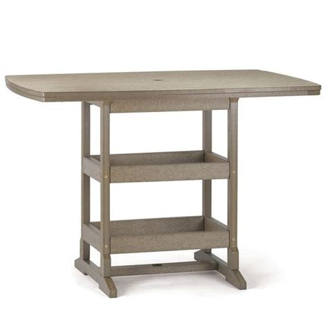 42 inch height table 42 inch x 60 inch bar height table breezesta sku brz