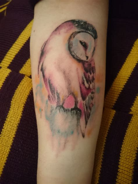 harry potter owl tattoo 50 insanely harry potter tattoos that are truly
