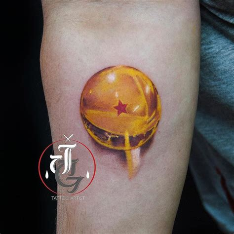 jose garcia tattoo artist bola dragon ball goku