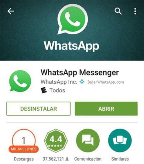 whatsapp hackeado por abrir un instalar whatsapp abrir