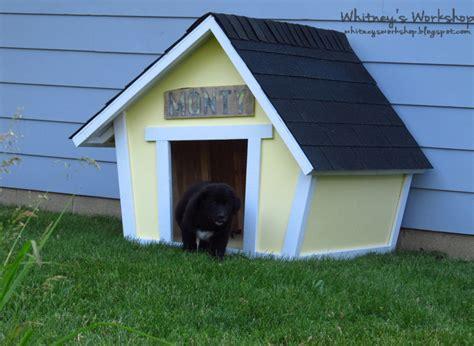 crooked dog house 10 amazing diy dog houses with free plans