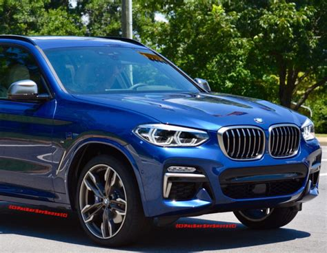 Bmw X3 0 60 New Bmw X3 M40i Seen For The Time On The Road