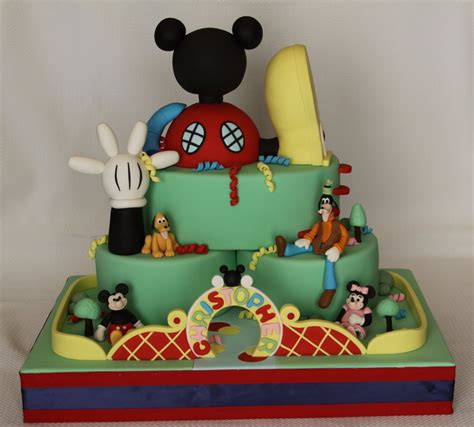 mickey mouse club house mickey mouse cake decoration ideas little birthday cakes