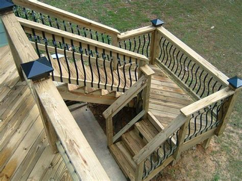 outside stairs design deck stairs landing and stairs on pinterest