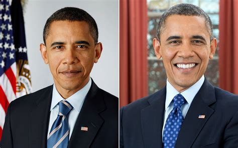where are the obamas now new portrait of president obama unveiled today com