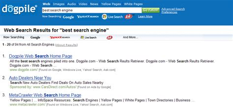 Best Search Engines Free Free Search Engines List Autos Weblog