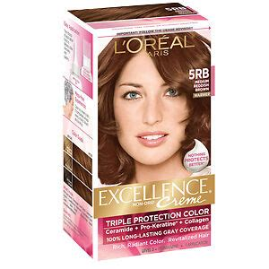 5rb hair color loreal excellence protection hair color creme 5rb