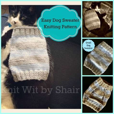 knit dog sweater pattern in the round small dog sweater pattern knitting pinterest