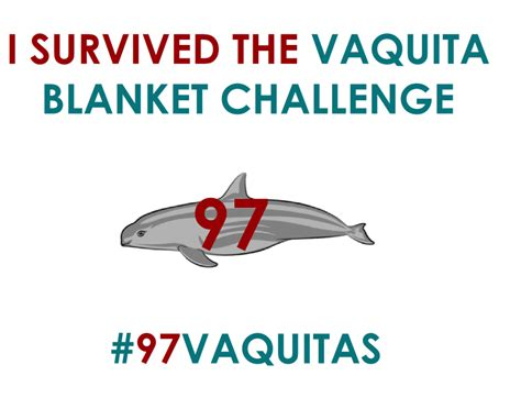 Get A Home Plan vaquita blanket challenge vaquita nation