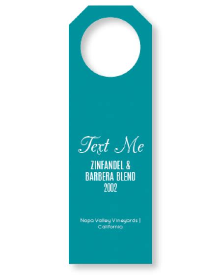 Neck Tag Template hang tag template clipart best