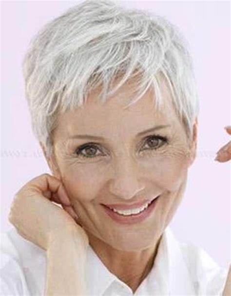 photo gallery  short pixie haircuts  older women