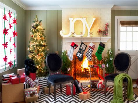 dec for christmashgtv black and white decor interior design styles and color schemes for home decorating hgtv