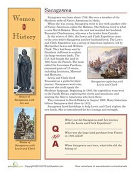 lewis and clark timeline for kids worksheet education com 1000 images about ahg sacagawea on pinterest lewis and