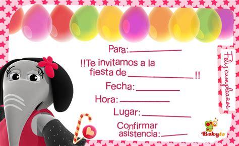 imagenes de invitaciones de cumpleaños bonitas babytv invitaciones de cumplea 241 os