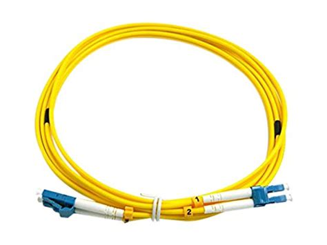 Skun Y 125 3 Yellow cablejoy lc lc 9 125 os1 duplex singlemode pvc fiber optic cable yellow 3 meter general general